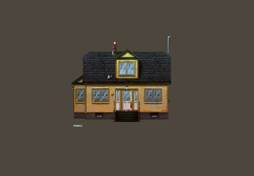 Pixel House #1 by zmoores