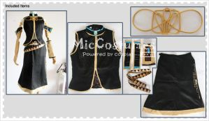 Vocaloid Megurine Luka Cosplay Costume by miccostumes