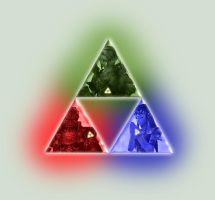 Triforce by UmbrellaSpecter