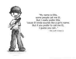 __L4D2:My name is Ellis__ by xCheckmate