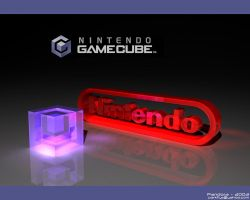 nintendo with cube by pandora808