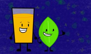 BFDI and II wallpaper: 'my two fevorites' by RT18