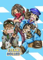 Steam Rolled -Game Grumps by JenXComics28