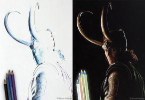 Loki (Inverted Drawing) by Quelchii