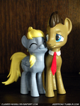 Derpy and the Doctor 3D Print by Clawed-Nyasu