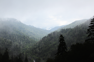 Smokey Mountains by Flickixhl