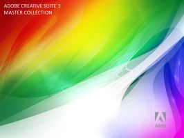 Adobe CS3 Style Wallpaper by deadPxl