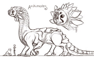 concept - archimedes by alienfirst