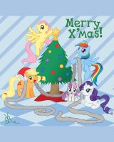 MLP Christmas is Magic by boinsie