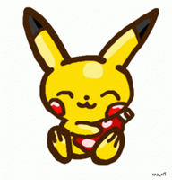 Pikachu with ketchup GIF by 1Pikapi1