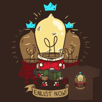 Robo Militia: Threadless Characters Competition by StchdInk