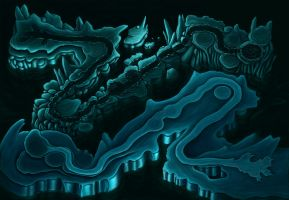 Underworld map by Alicemonstrinho