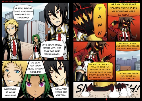 Anger Management : Ira - Pages 3-4 by VermillionDice