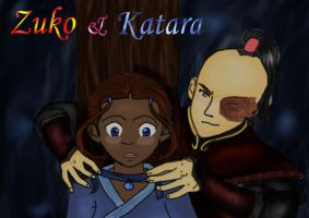 Zuko and Katara - 'Necklace' by Sinsia