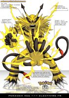 Pokedex 466 - Electivire FR