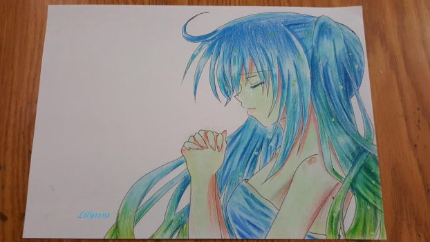 MIKU CRYING by lily1119