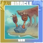 PKMN 688 - Binacle by Degnne