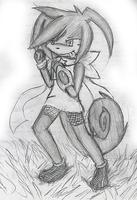 Wnna pick up a fight? -sketch by Cyane-ei