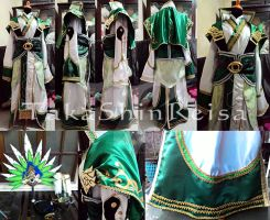 Zhuge Liang DW8 Costume by TakaShinReisa
