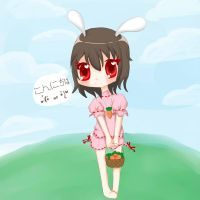 .:Hello Tewi:. by Hitswi