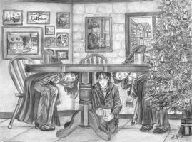 At the Three Broomsticks by ditraveler