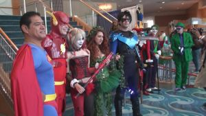 DC Superheroes and Villains at LB Comic Con 2013 by trivto