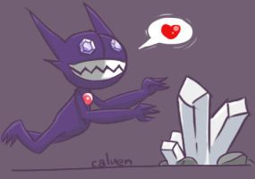 Pokedex Challenge: Ghost Sableye by jakks004