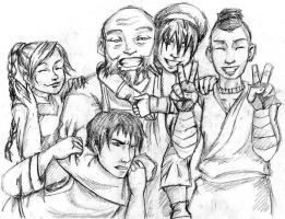 ATLA: Avatar Sketchy by Rushstarfire