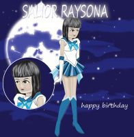 Sailor Raysona/gift for raysonapew by Voidlessman