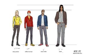 Wilde Life - Height Chart by Lepas