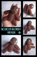 Little Big Daddy plush by shadow-of-insanity