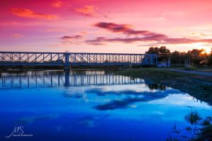 Bridge Over Troubled Water by NyappyMAL