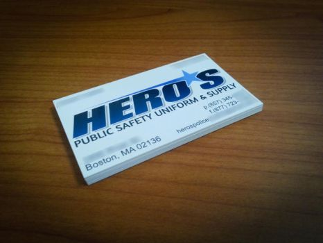 Hero*s Business Card by identicraft