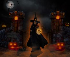 Have a Witchy Halloween everyone!  (2014) by WyckedAngel
