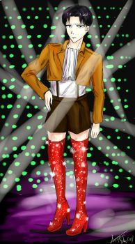 Levi's Kinky Boots by aeschan