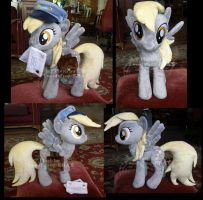Derpy mailpony more views by hystree
