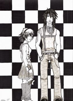 Checkered by Natchan84