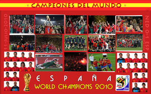 SPAIN World Cup Champion by DRLM
