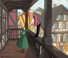 Howl's moving castle by Daisy069