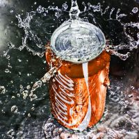 coca cola orange by SaphoPhotographics