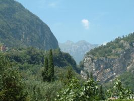Hills above Riva, Italy by vinny53