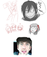 MiloJamesPortalSmosh doodles by Super-Cute