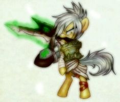 Riven Pony by PeachPalette