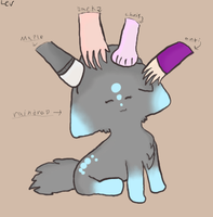 ALL the petting by Derp301