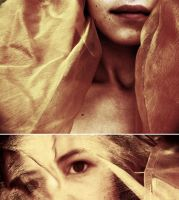 Tired eyes, tired smiles by Trepka