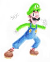 .:Luigi:. by SuperCaterina