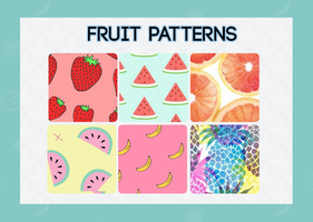 Fruit patterns 2.0 by DarkParadiise