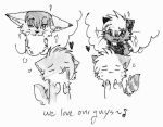 -We love our guys- by Spottedfire-cat