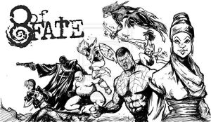 8 of Fate  Splash Inks by ADE-doodles