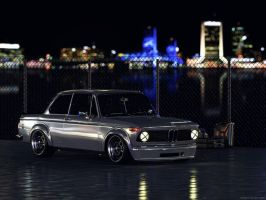 BMW 2002 Turbo CGI Night by sergoc58